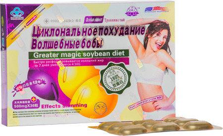 Капсулы для похудения Волшебные бобы
