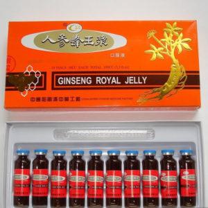 Маточное молочко с женьшенем Ginseng Royal